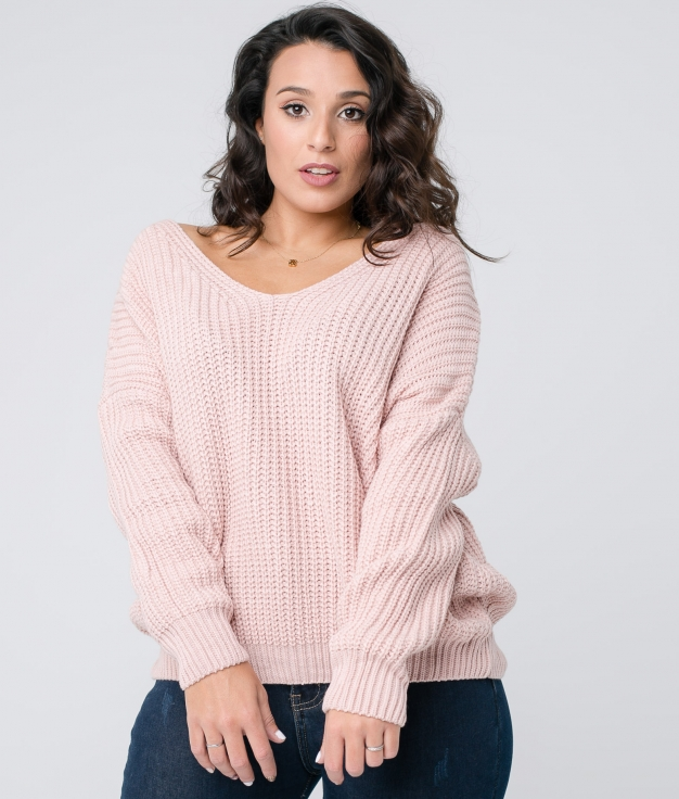 Sweater Crosemi - Pink