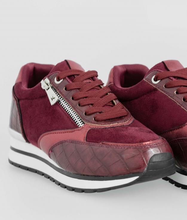Sneakers Amel - Bordeaux