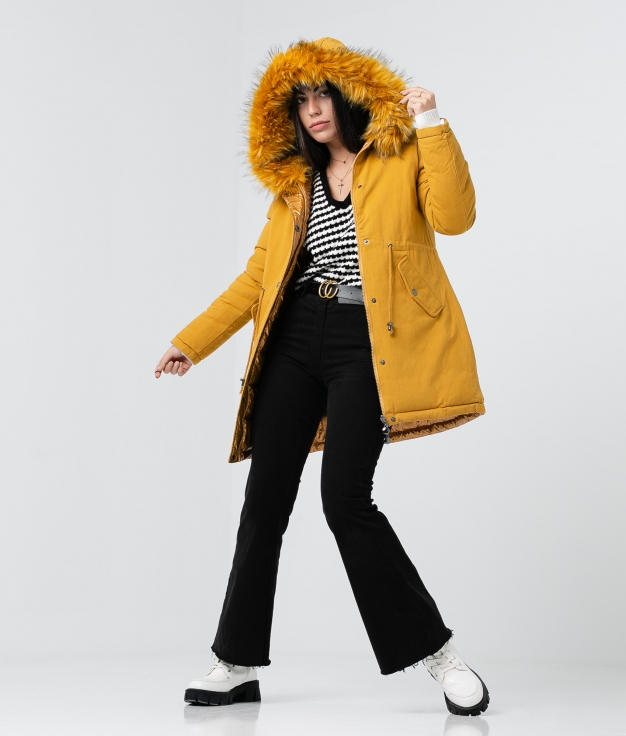 Coat Reversible Galebi - Yellow