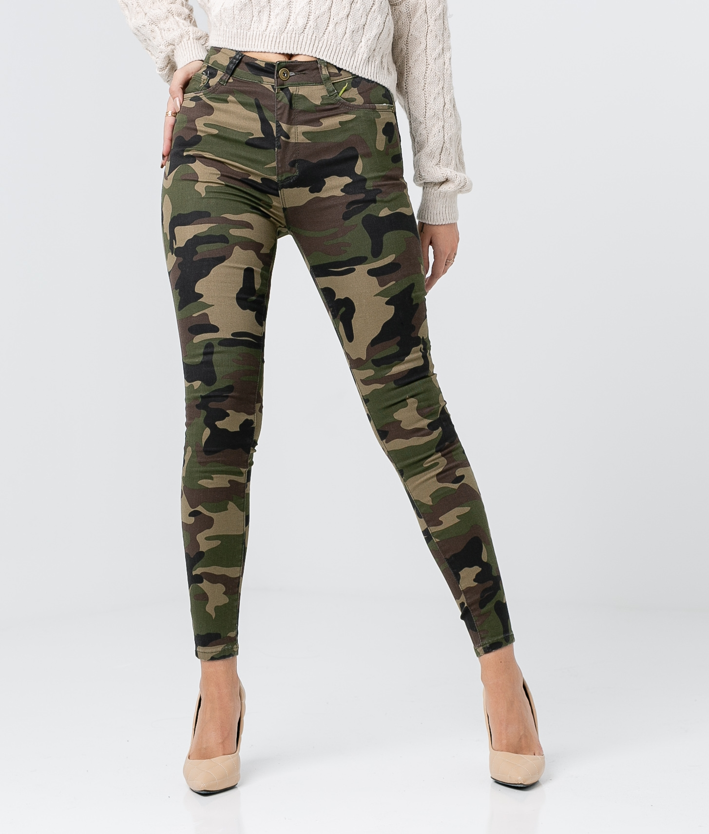 Pantalon Riset - Camouflage