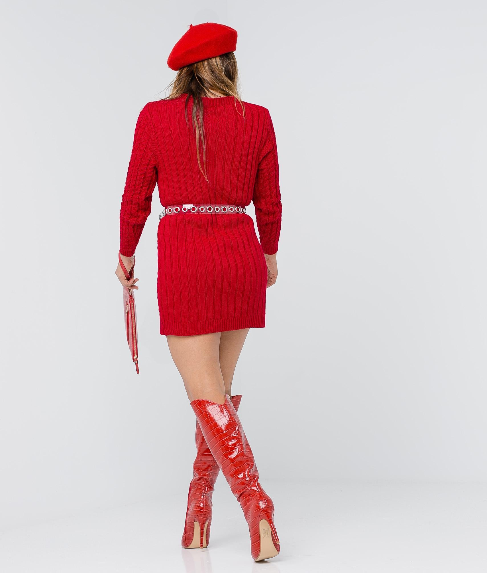 Babula dress - Red