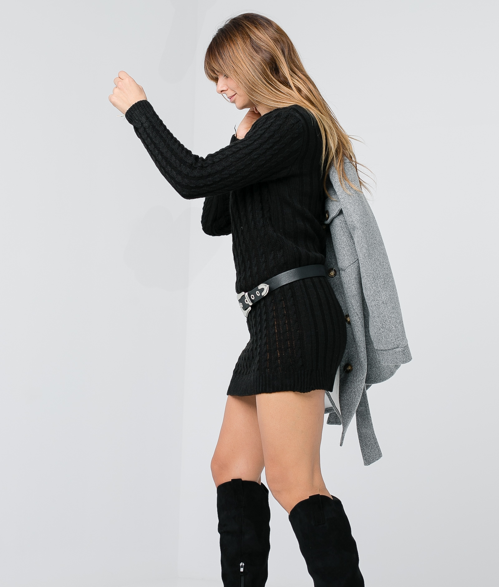 Vestido Babula - Negro