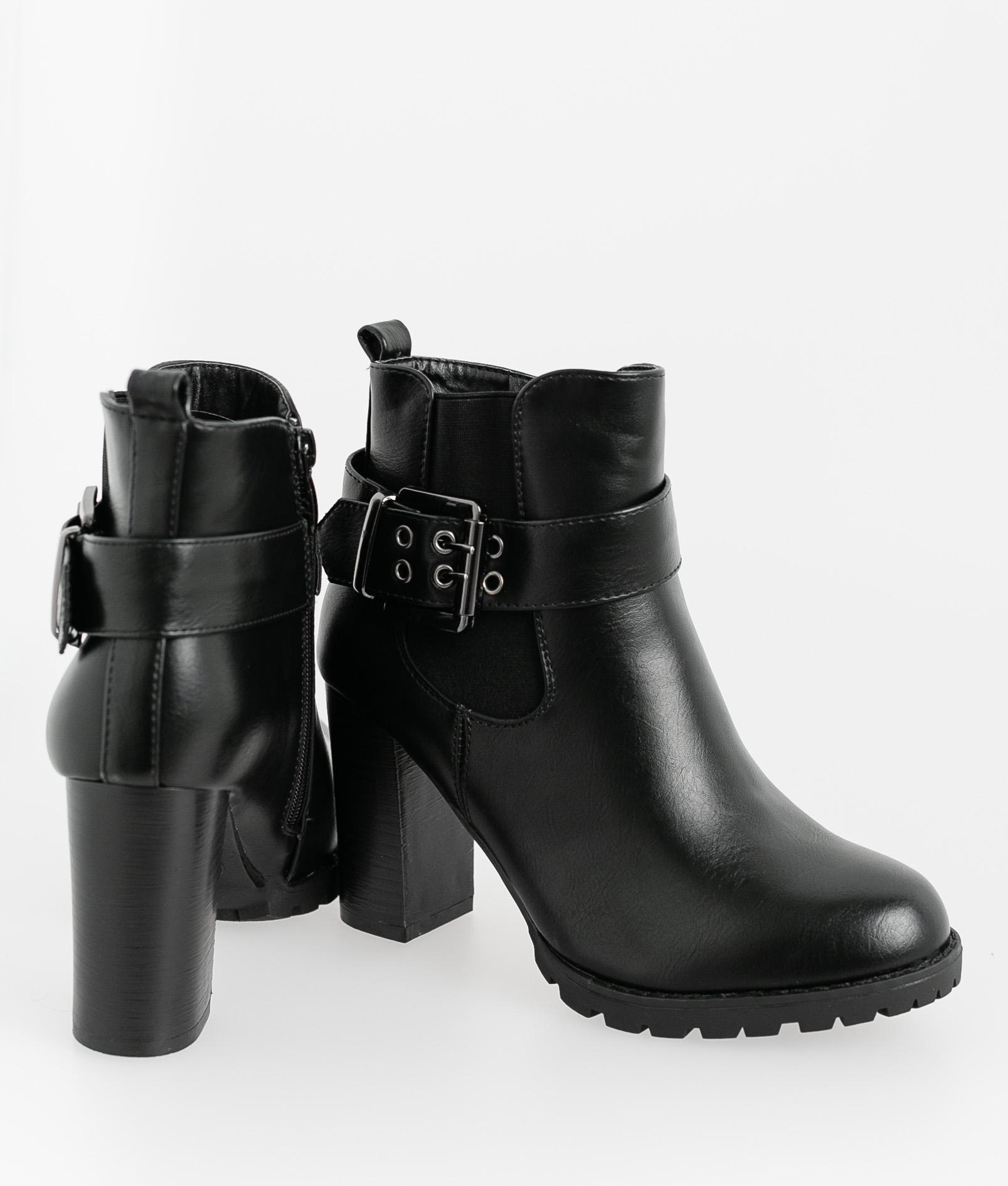 Low Boot Ferty - Black