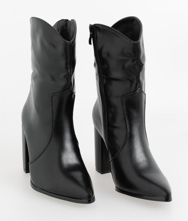 Low Boot Manuila - Black