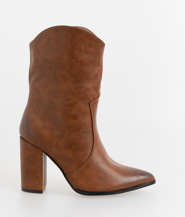 Low Boot Manuila - Camel