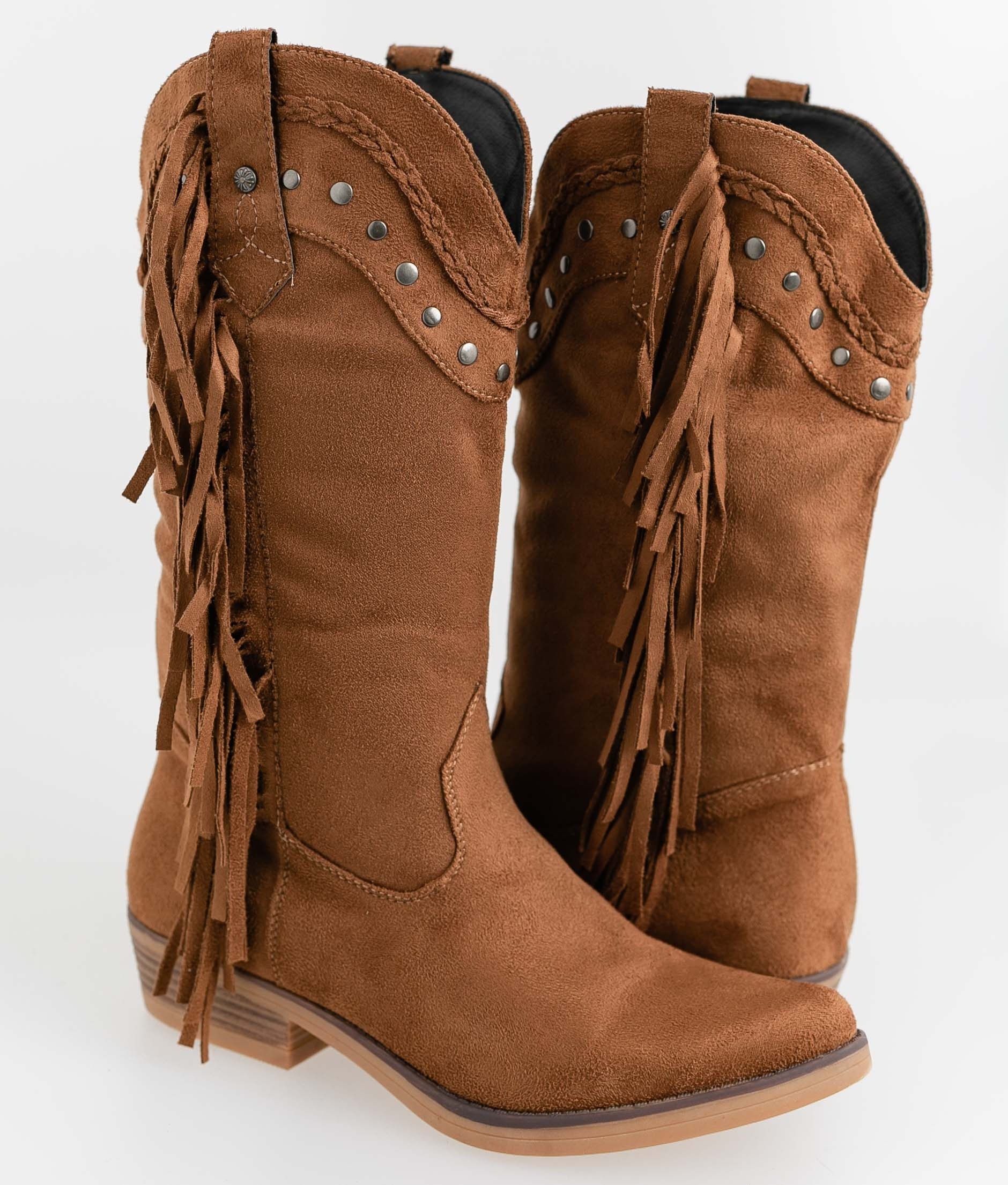 Knee-Length Boot Caoby - Camel