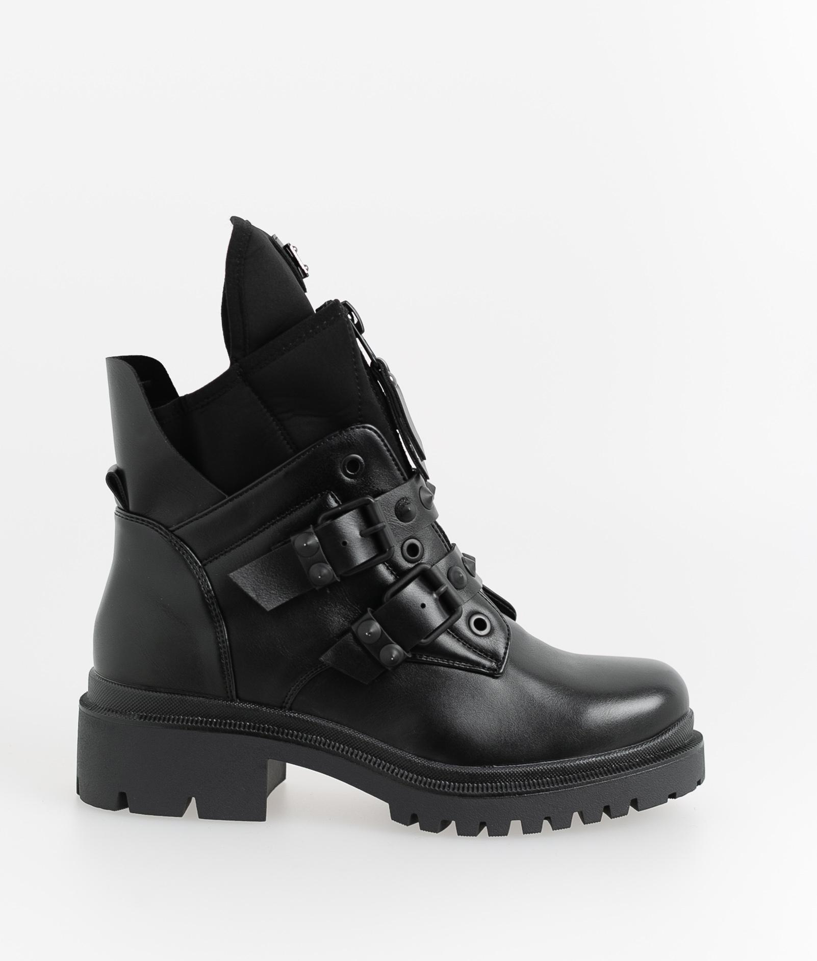 Low Boot Midel - Black