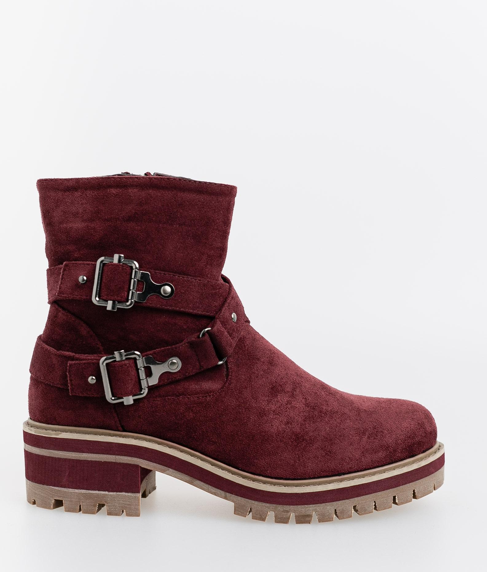 Brati Low Boot - Garnet