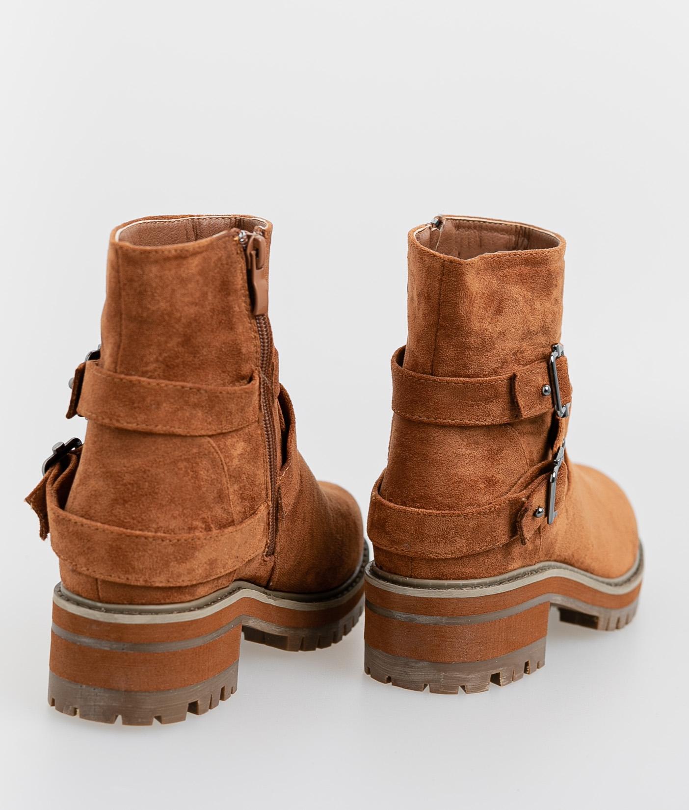 Brati Low Boot - Camel