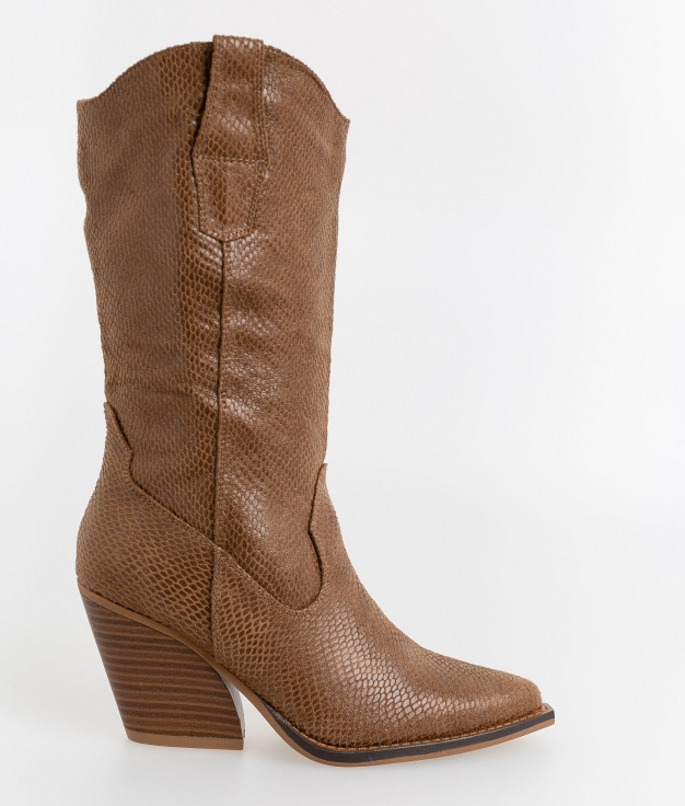 Knee-length Boot Golit - Camel