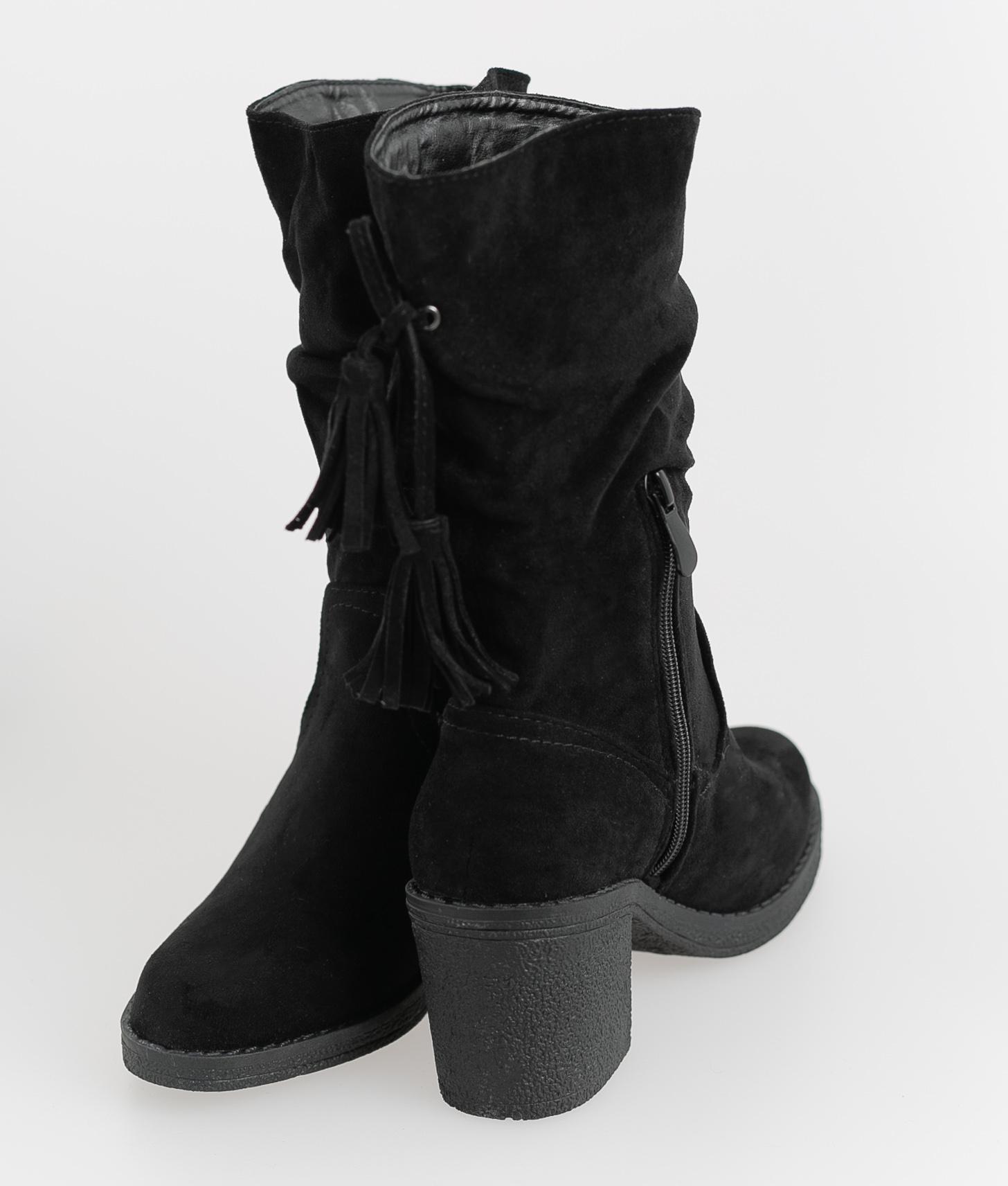 Low Boot Jalio- Black