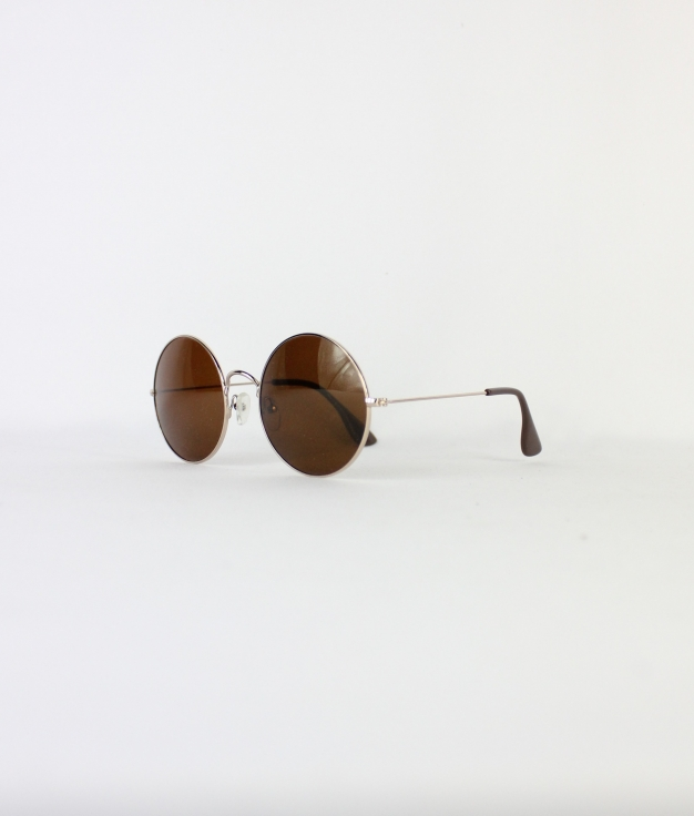 SUNGLASSES BARTI - GOLD/BROWN
