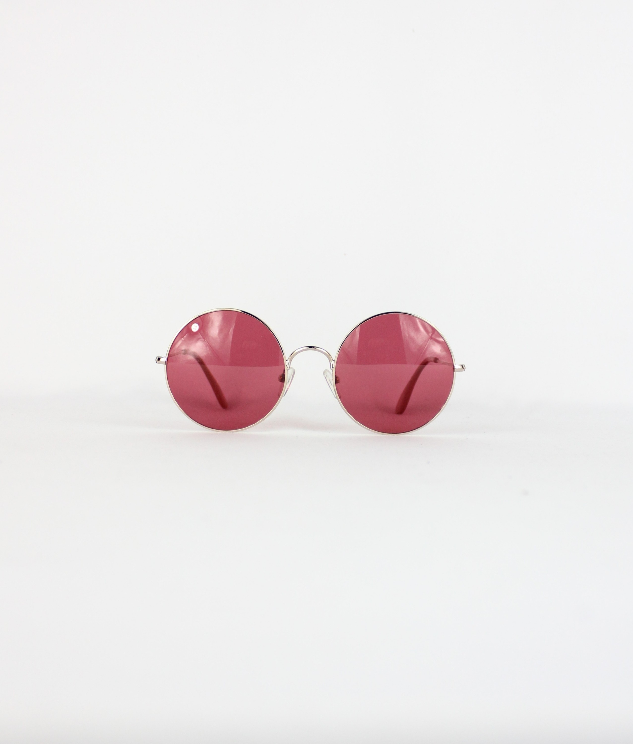 SUNGLASSES BARTI - GOLD/RED