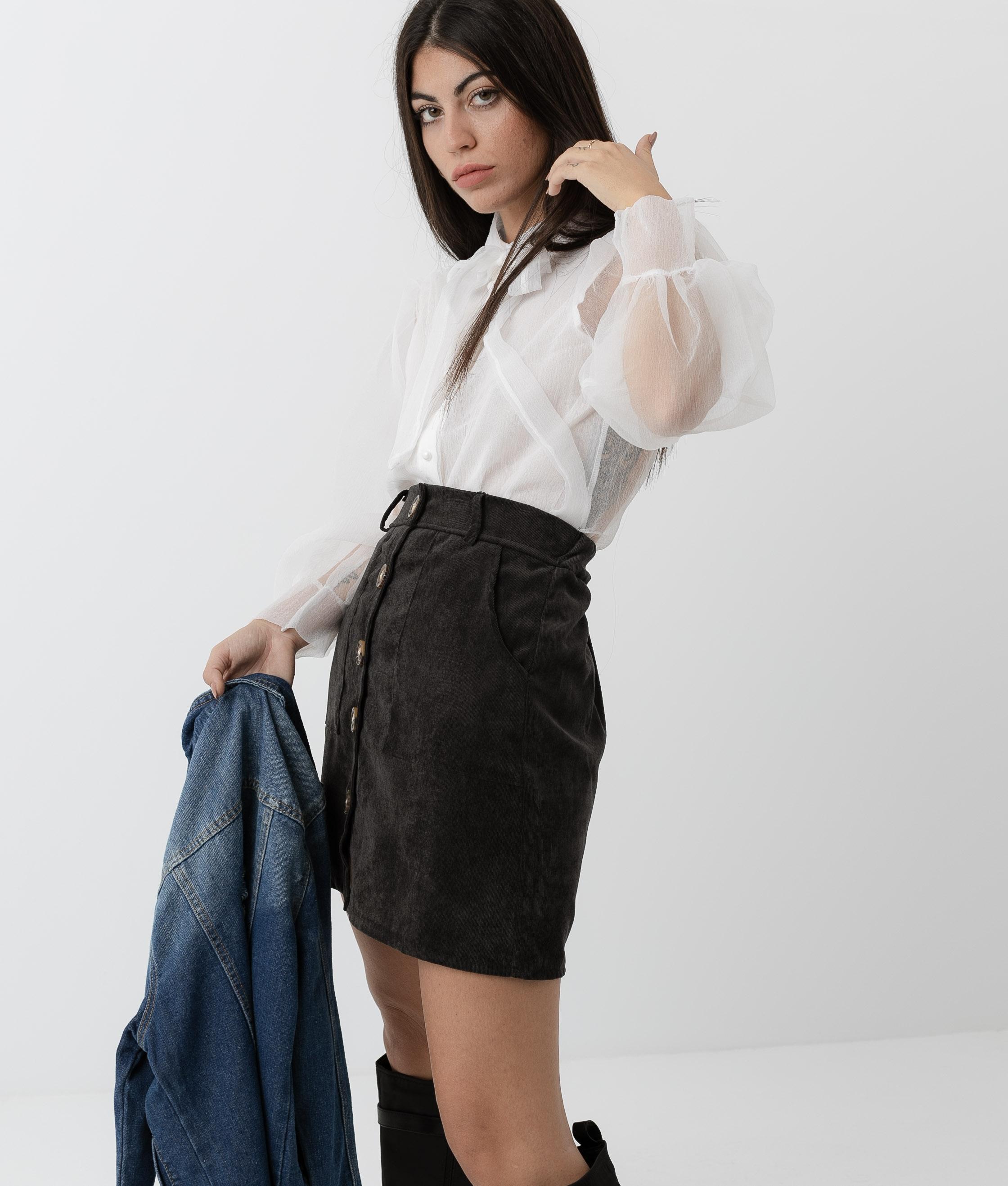 Zania Shirt - White