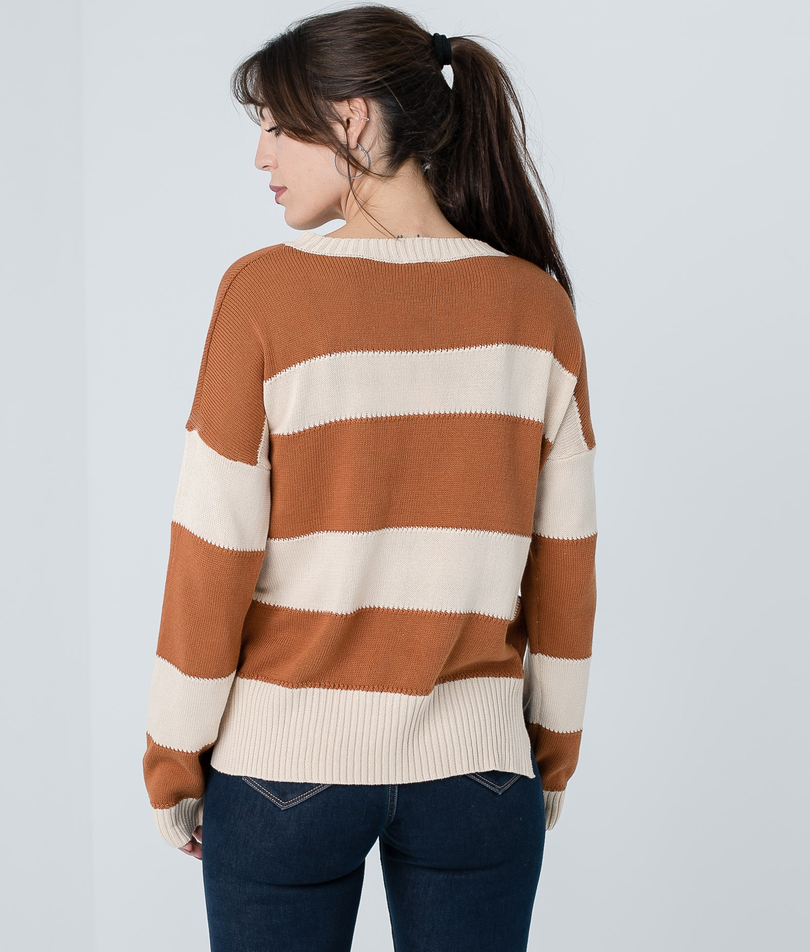 LEDA SWEATER - CAMEL