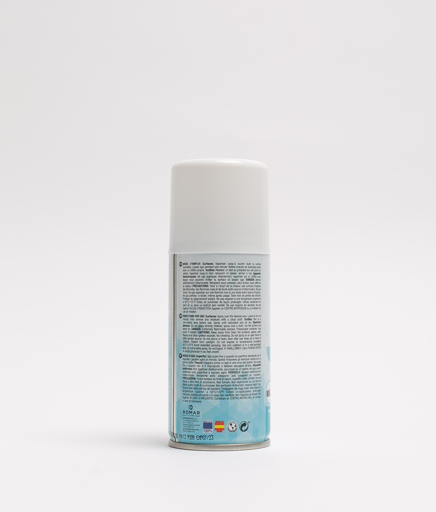 SCENTED CLEANSER WITH ALCOHOL