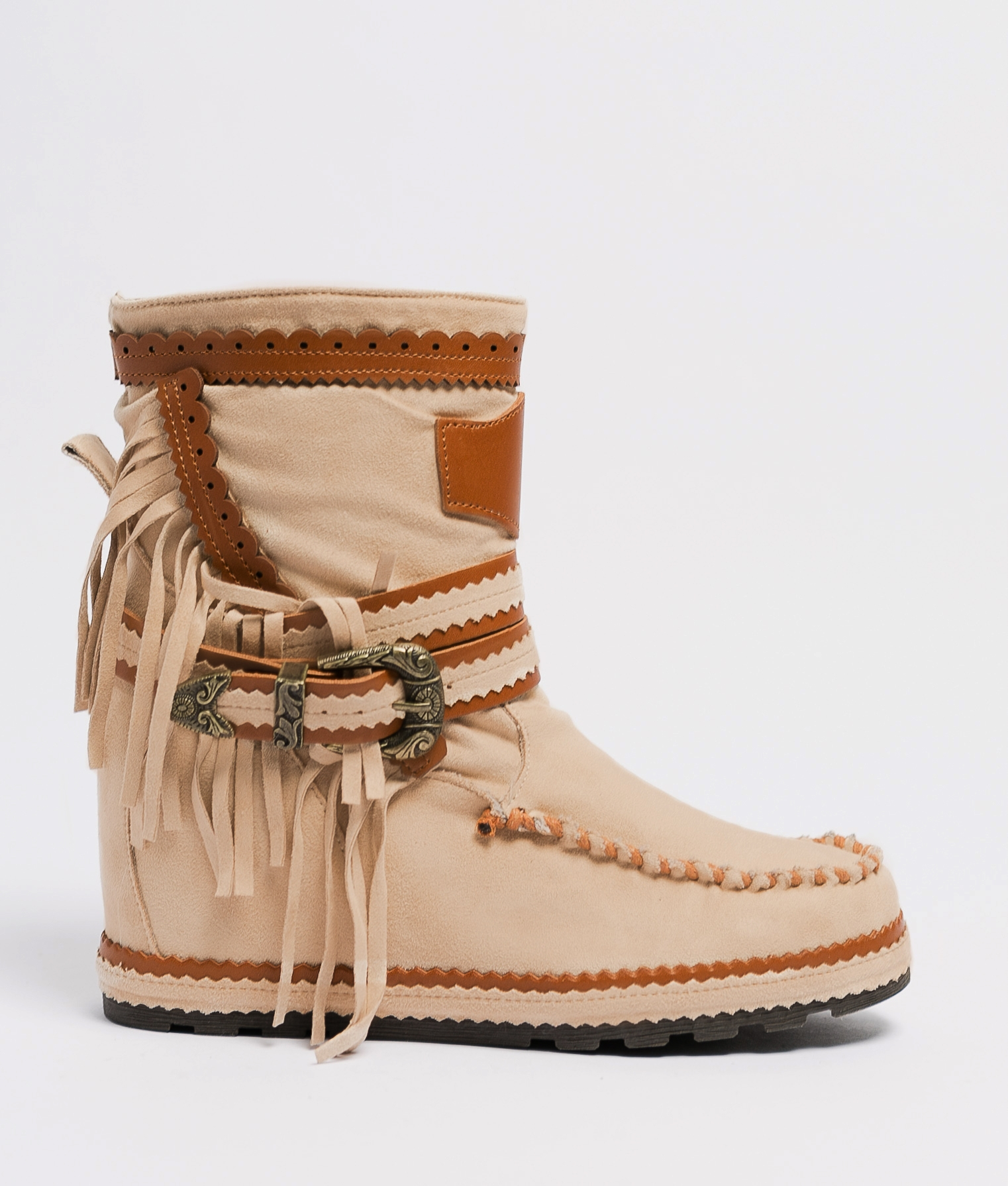Armie Indianini Low Boot - Beige