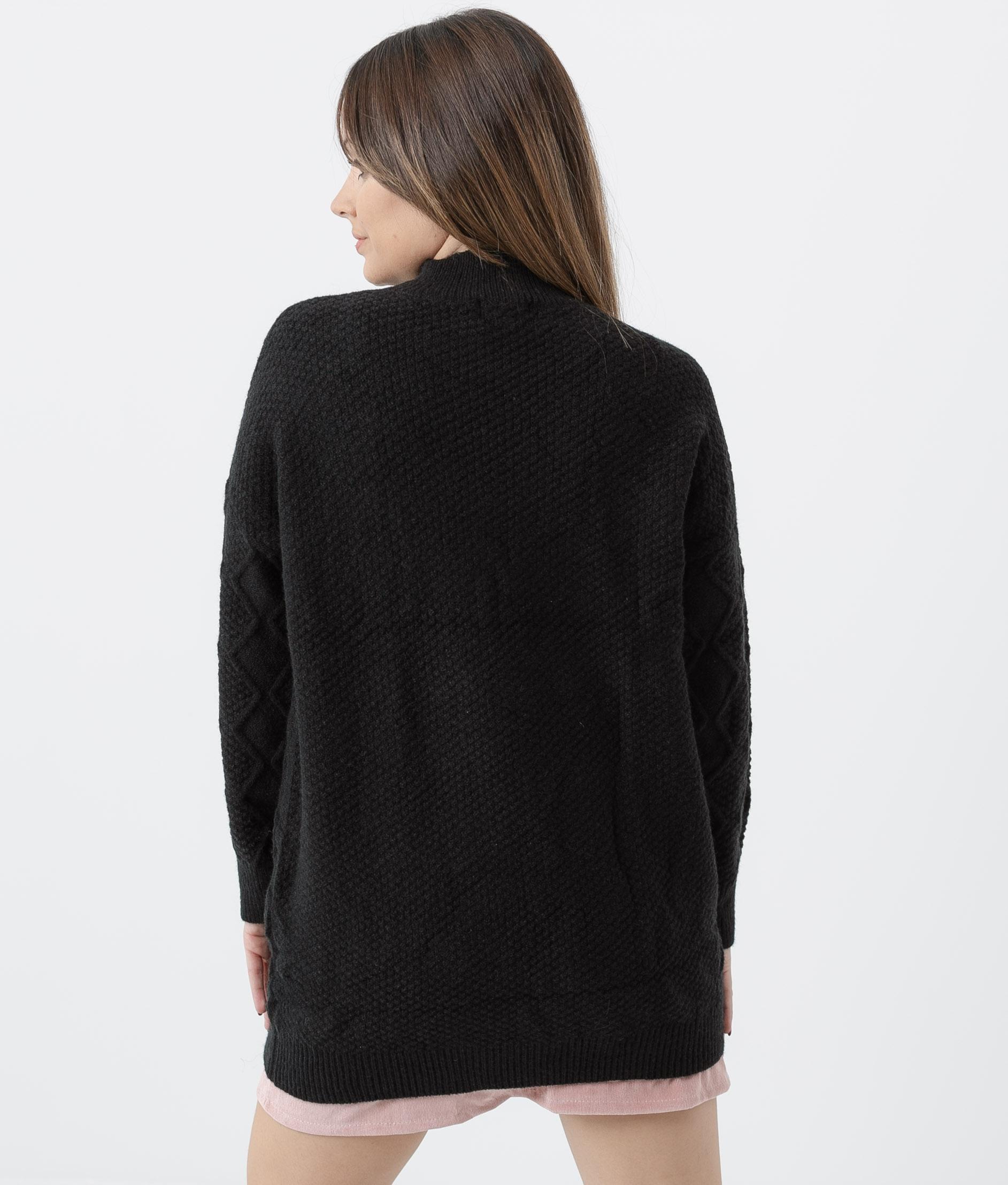 SWEATER MACONDO - BLACK