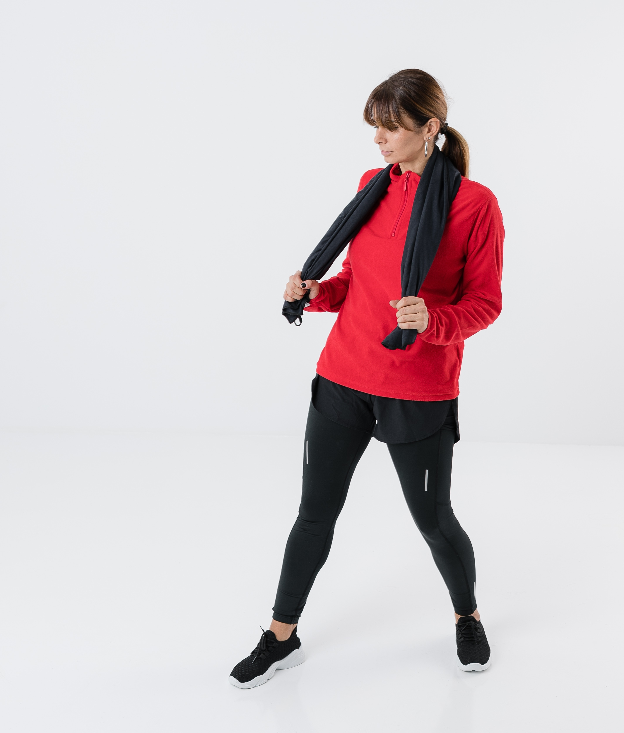 SWEAT POLAR ILANY - ROUGE