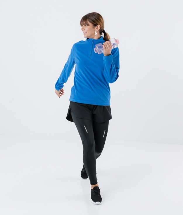 SWEAT POLAR ILANY - BLAU ROYAL