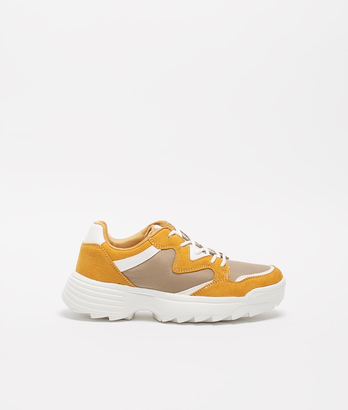 Sneakers Graza - Mostaza