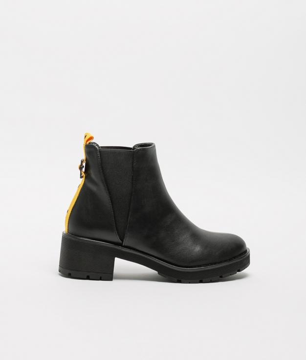 Low Boot Tevila - Black