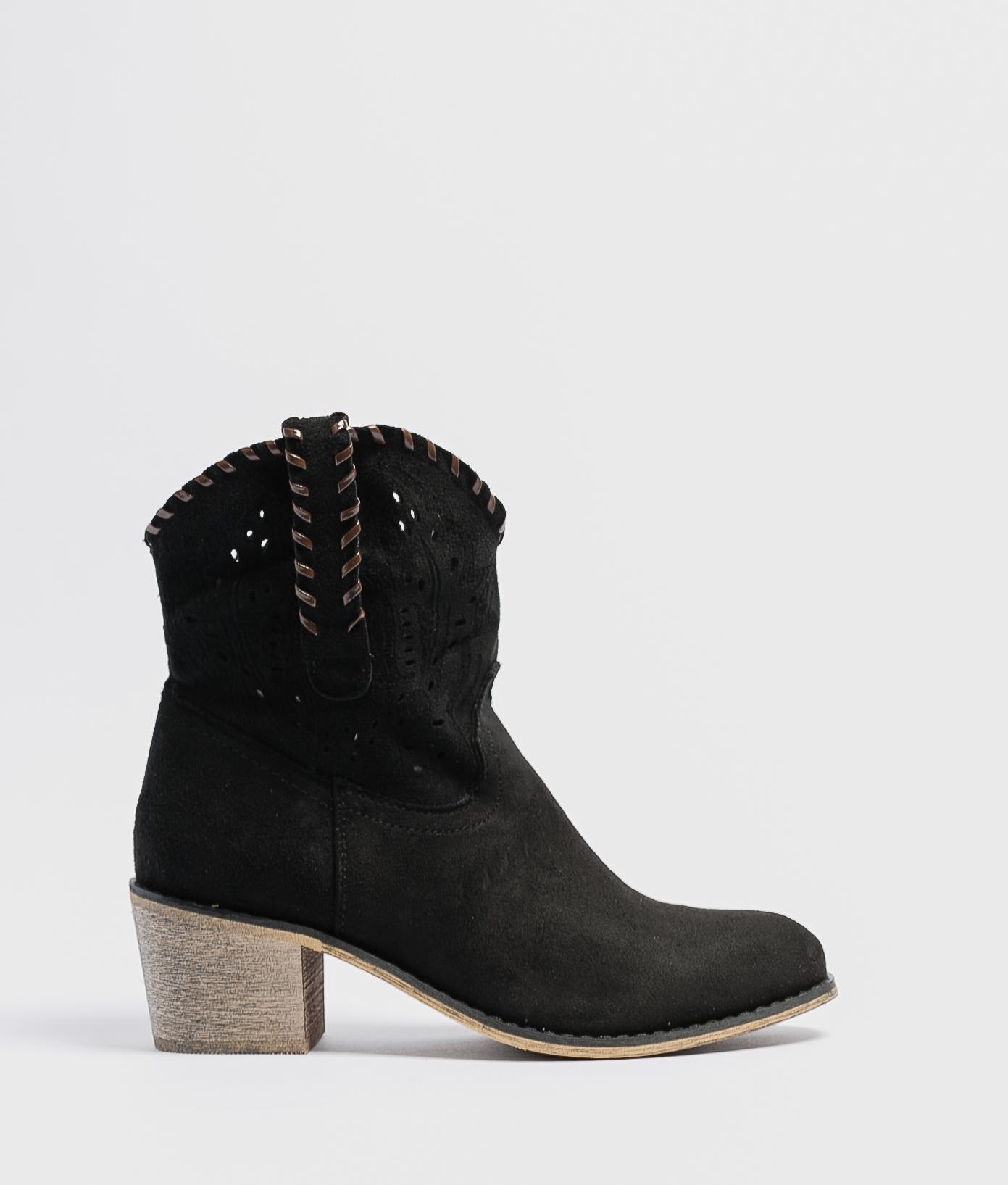 Low Boot Vinia - Black