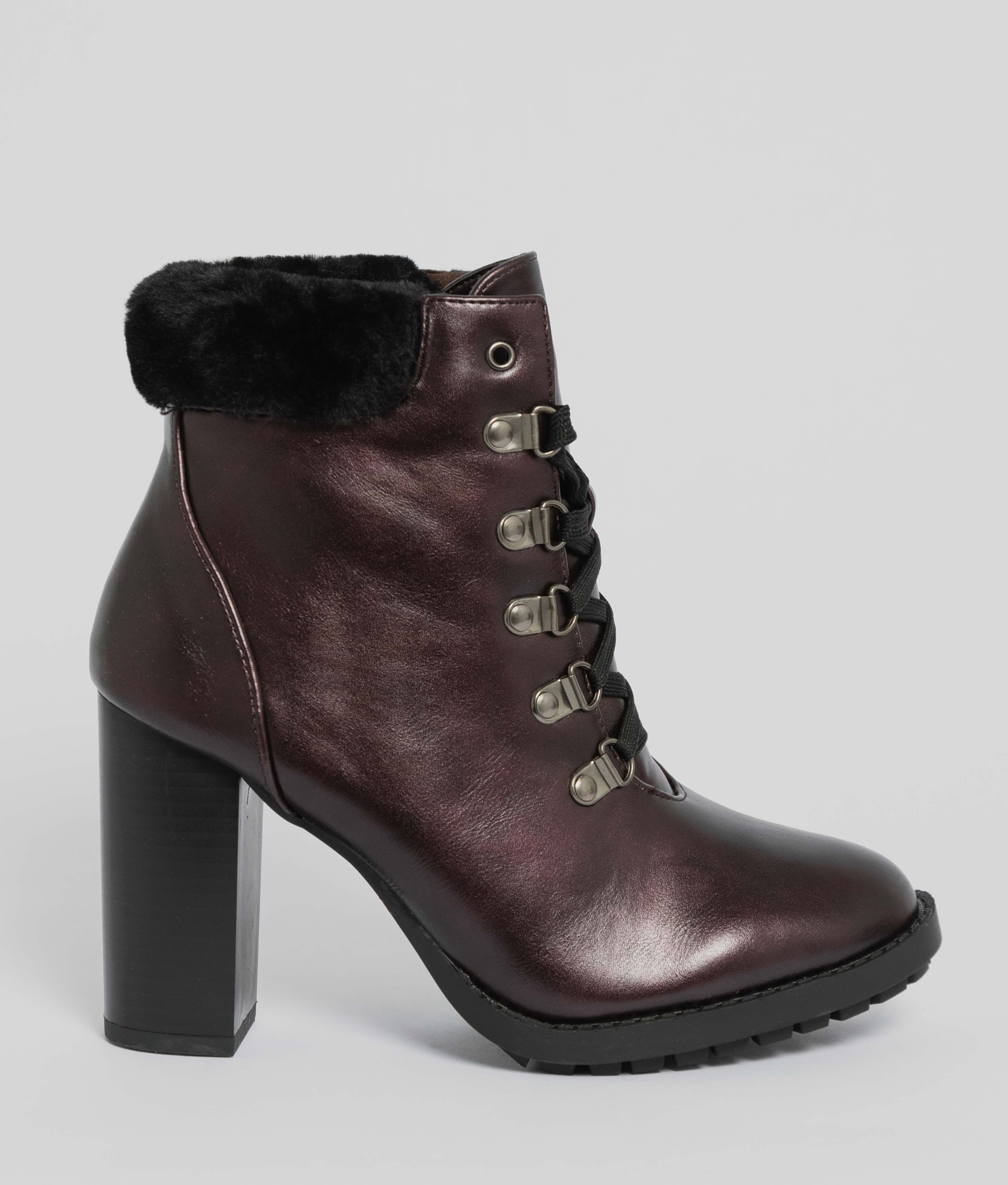 Low Boot Barrow - Maroon