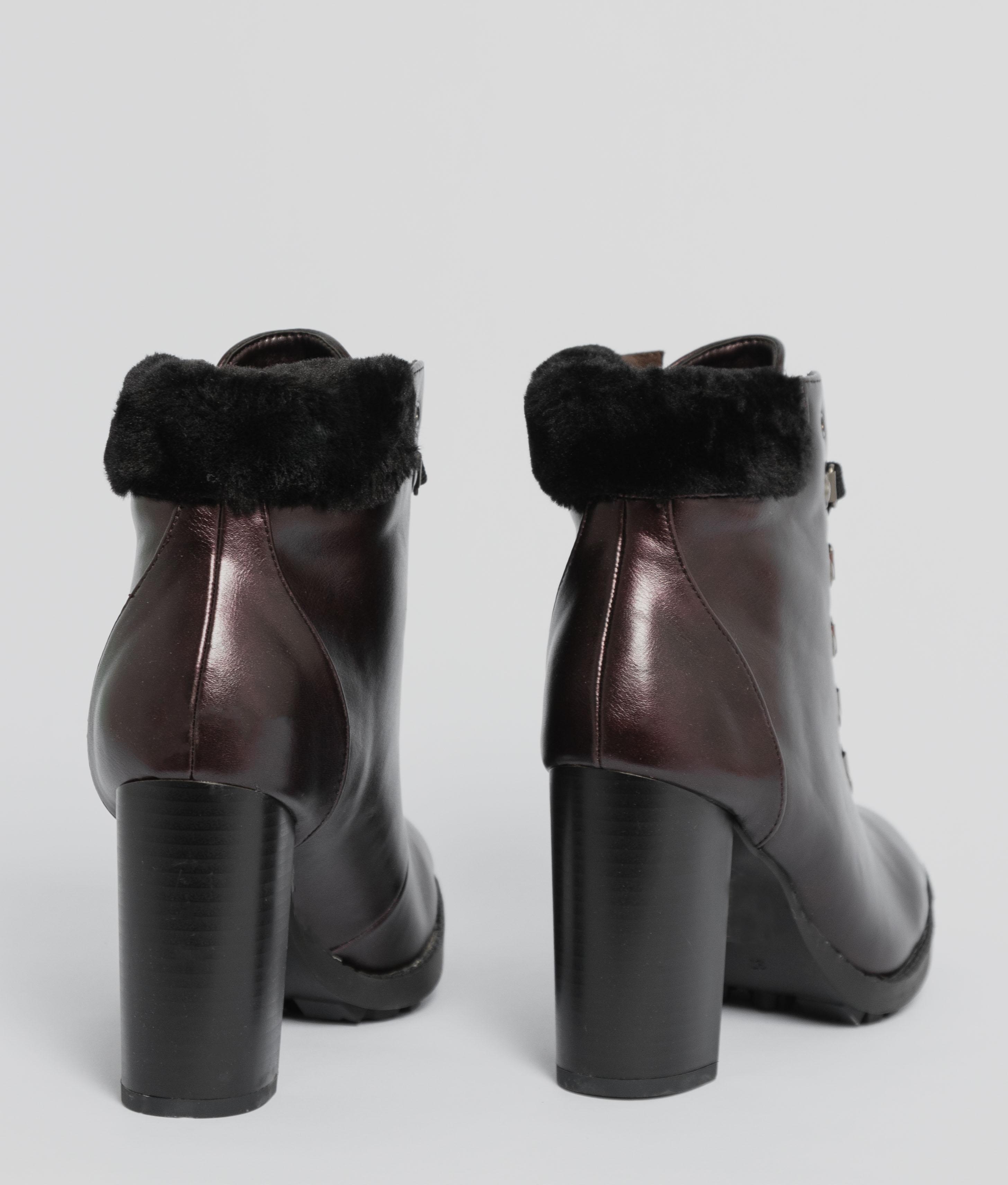 Boot Petite Barrow - Grenat