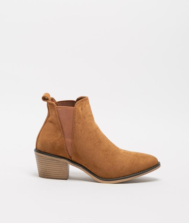 Low Boot Peley - Camel