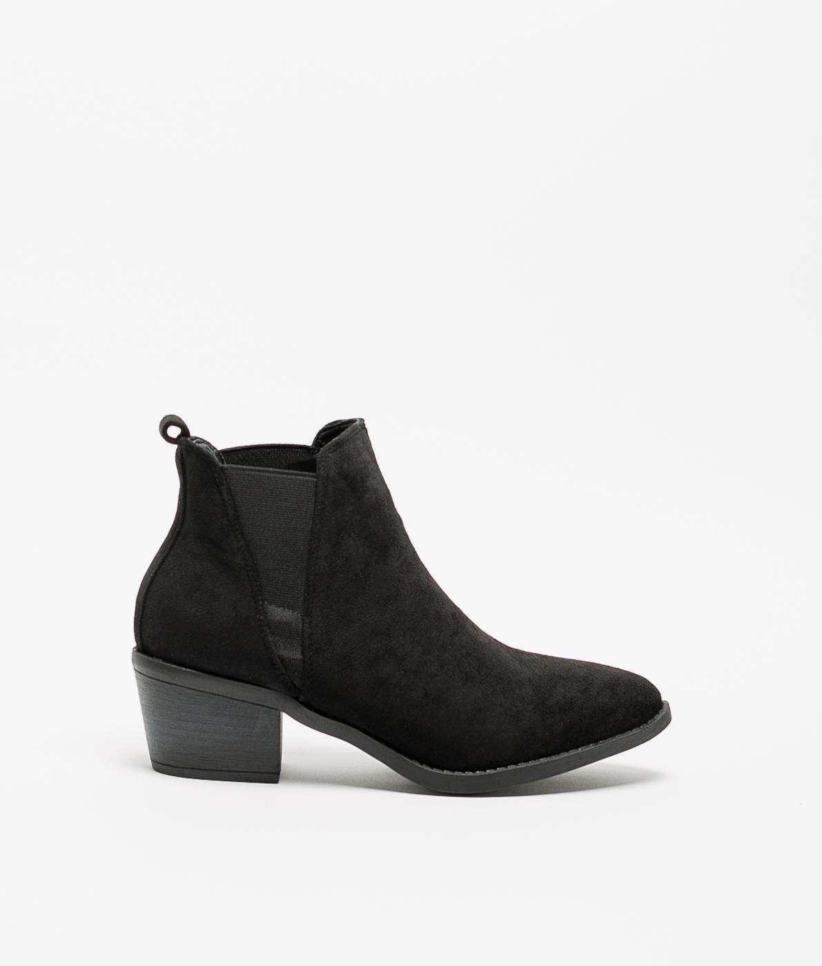 Low Boot Peley - Black