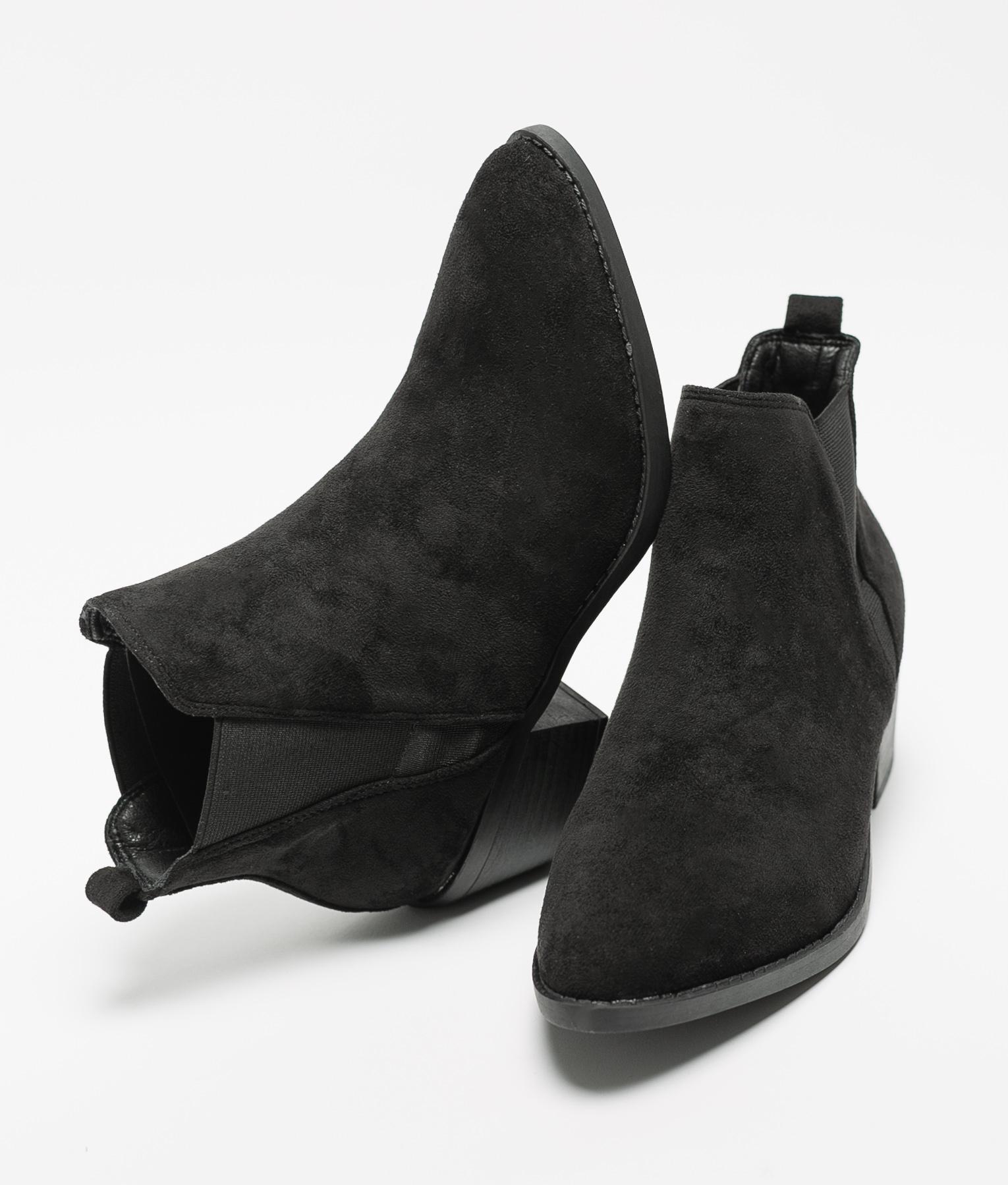 Bota Baja Peley - Negro