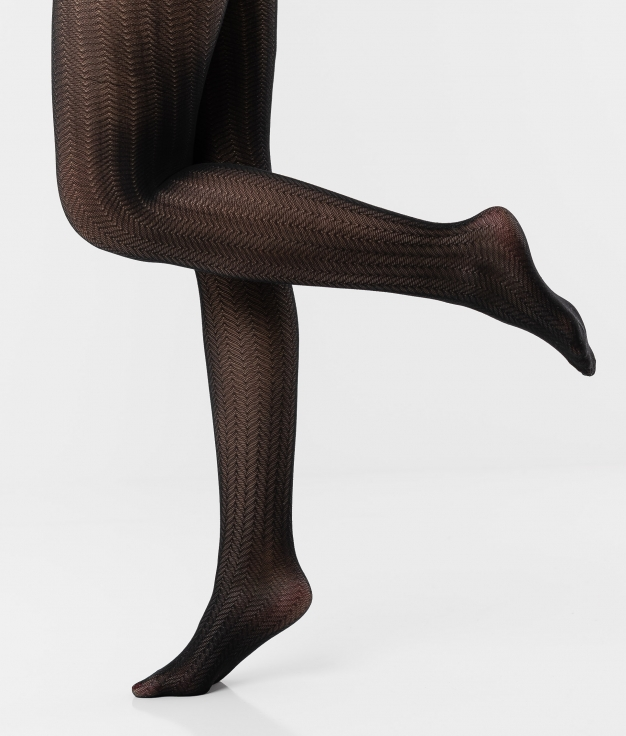TIGHTS REMUR - BLACK