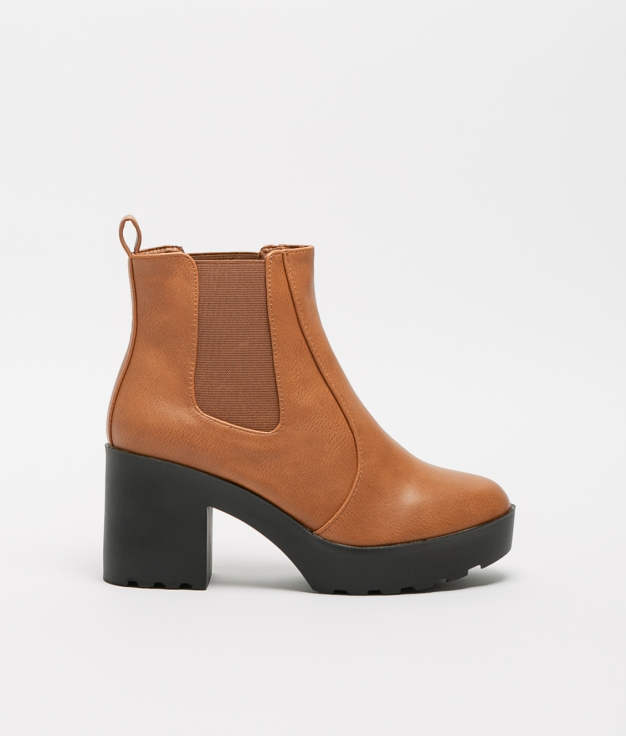 Low Boot Lerea - Camel