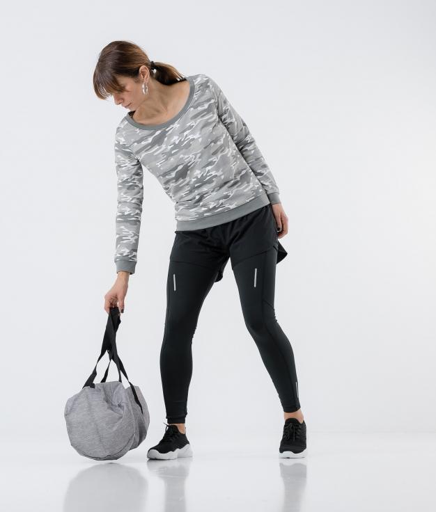 Suéter Jurem - Camuflagem cinza