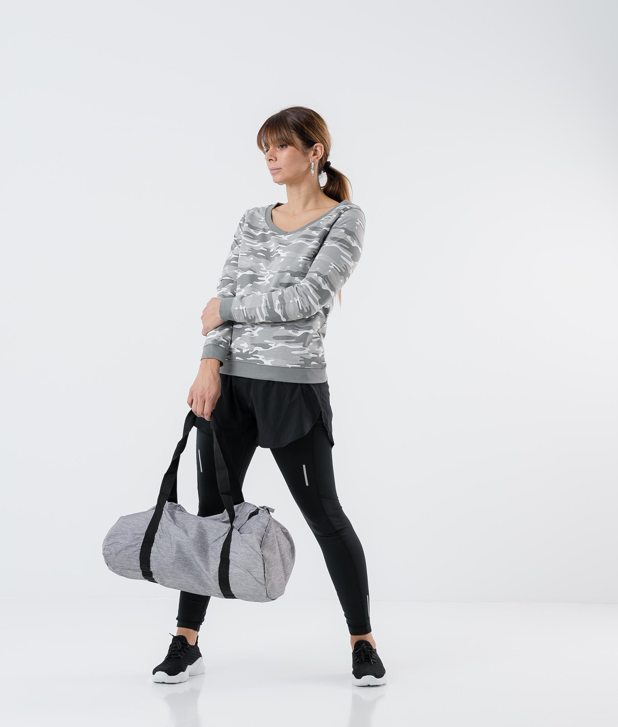 Sudadera Jurem - Camuflaje gris