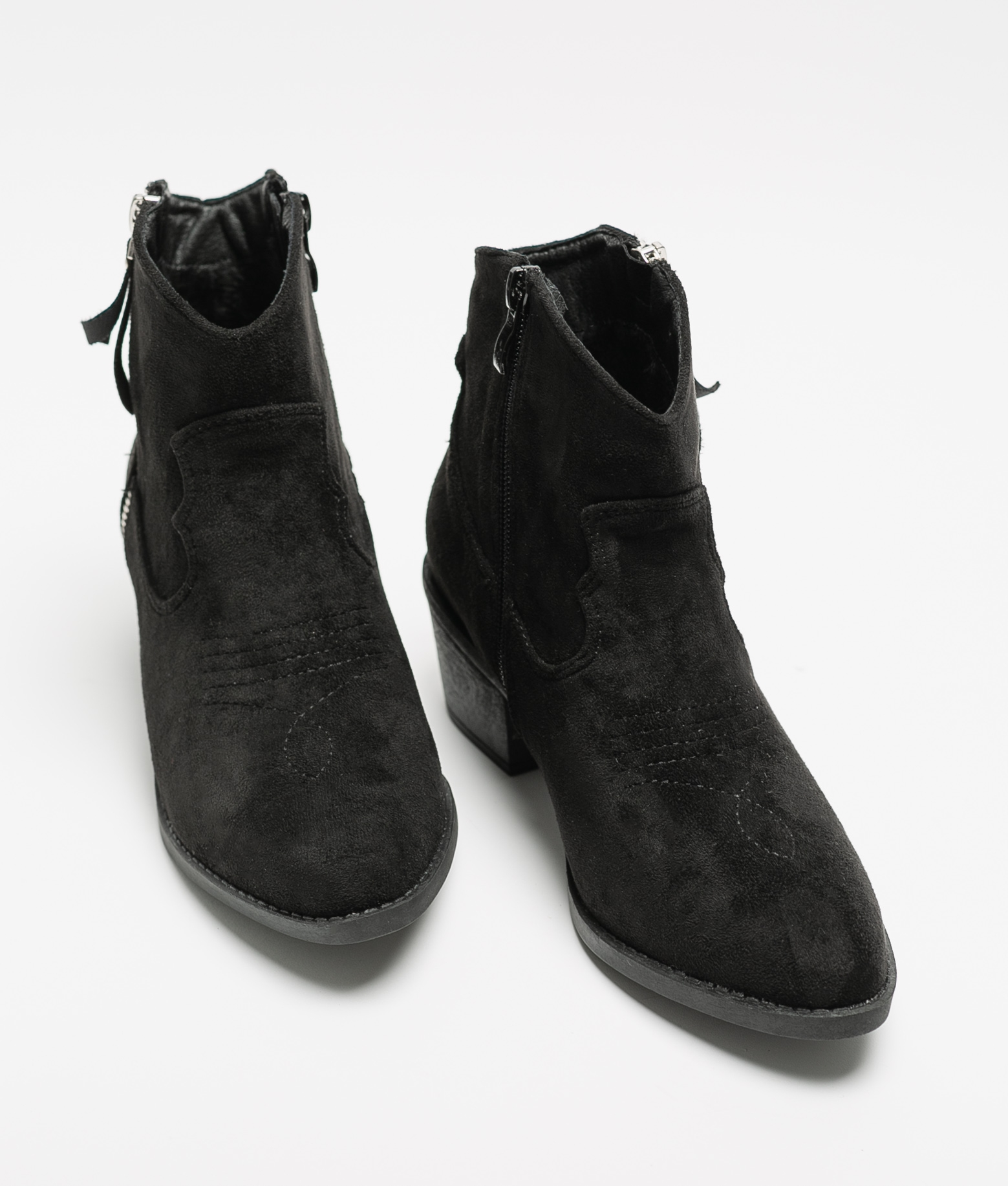 Low Boot Sule - Black