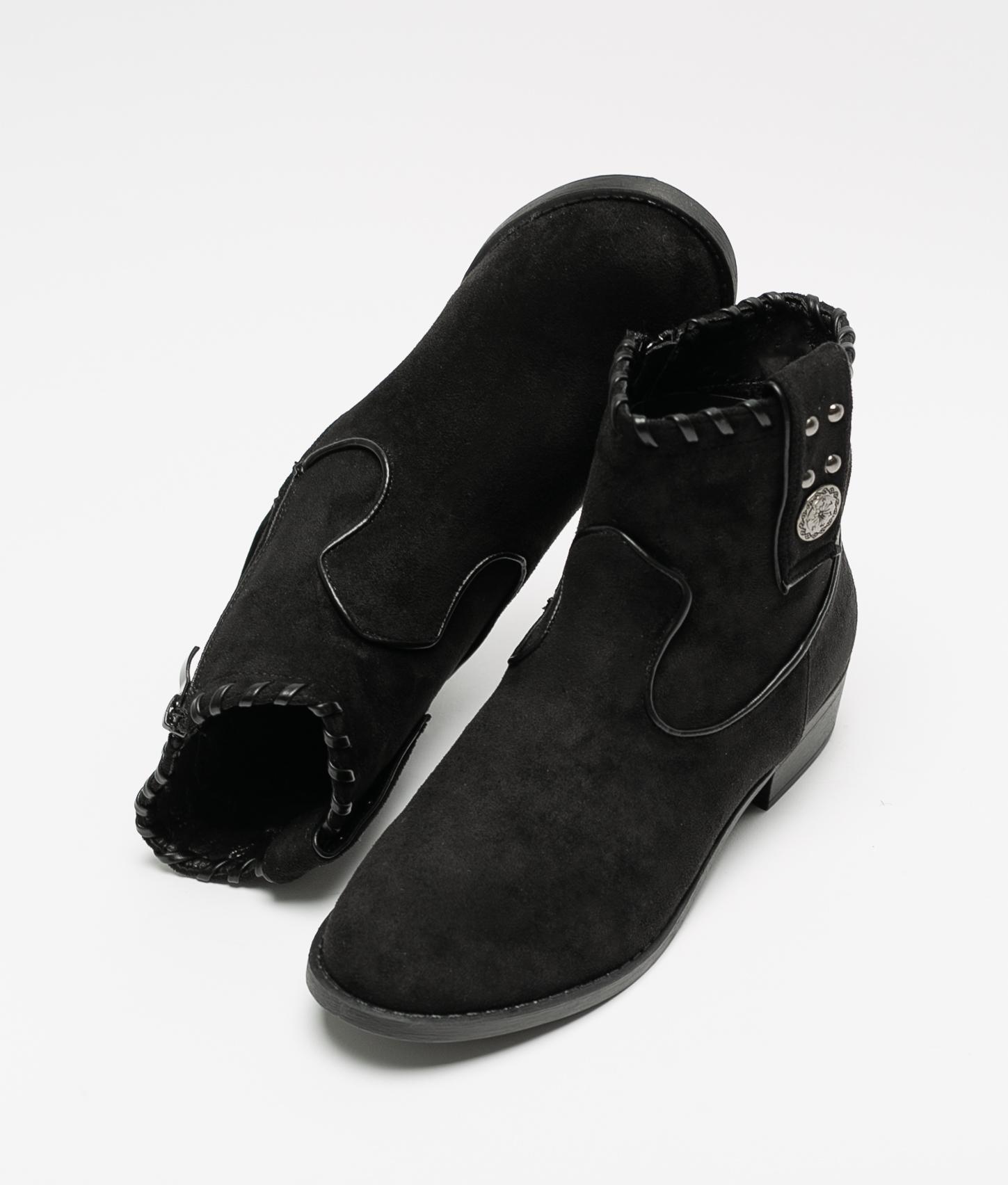 Bota Baja Relu - Black