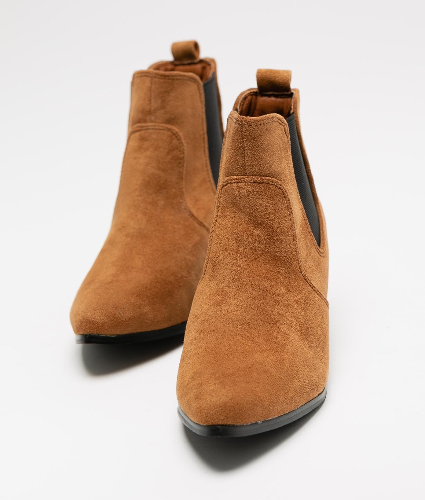 Low Boot Tuca - Camel