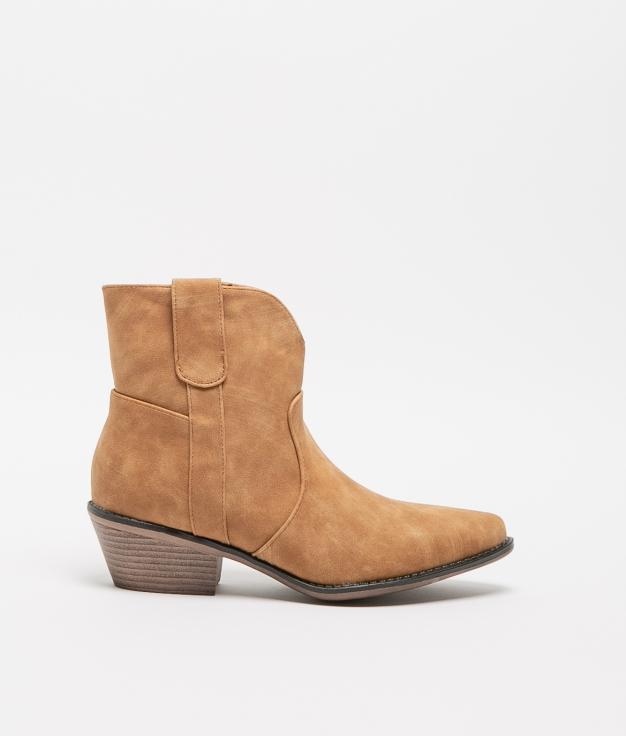 Noli Low Boot - Camel