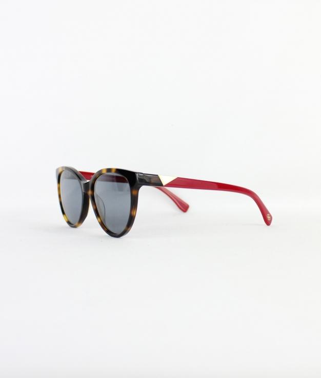 SUNGLASSES THAIS - HAVANA / RED