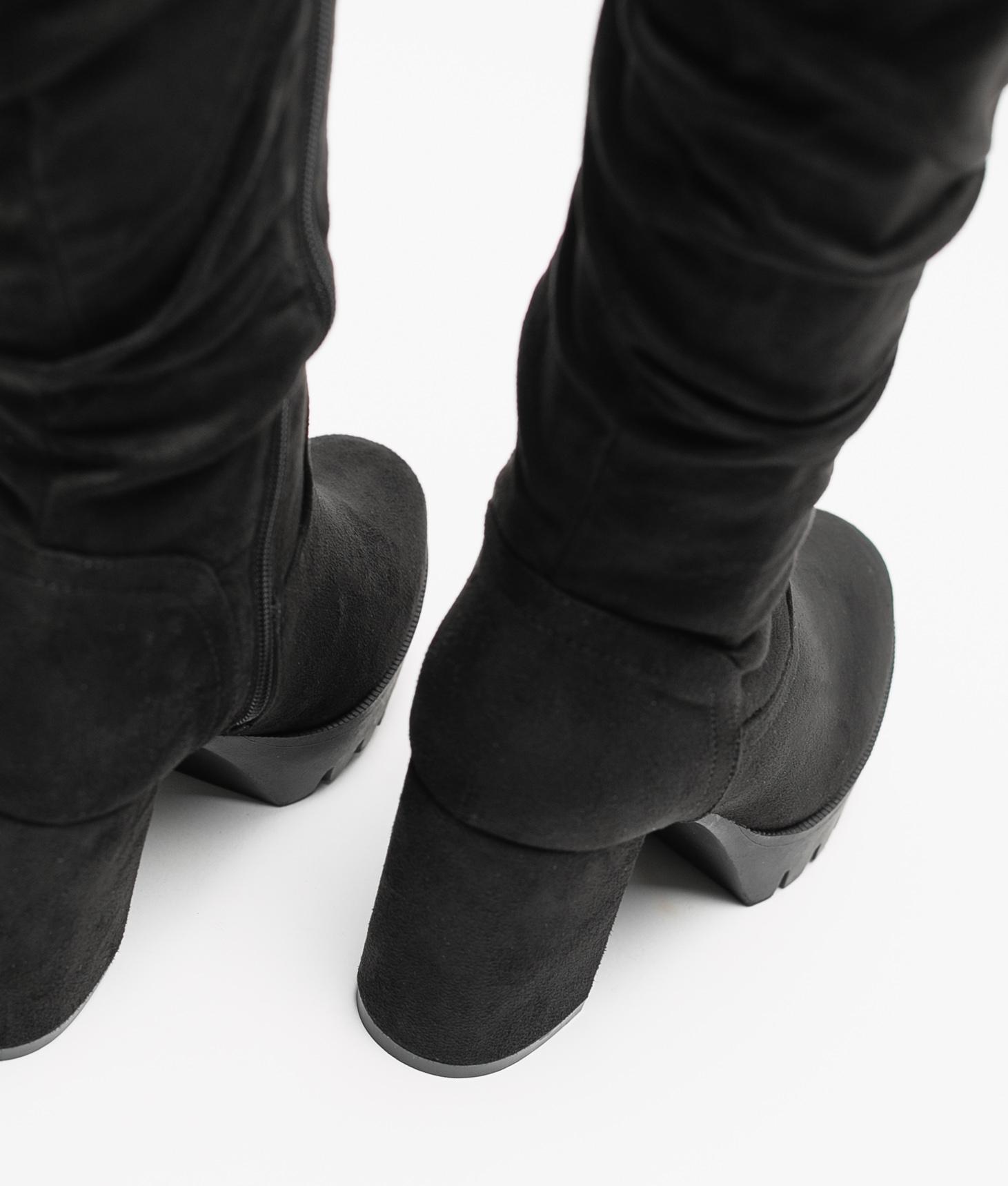 Bota Alta Mandy - Black