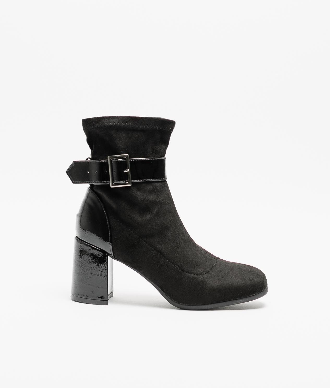 Low Boot Glax - Black