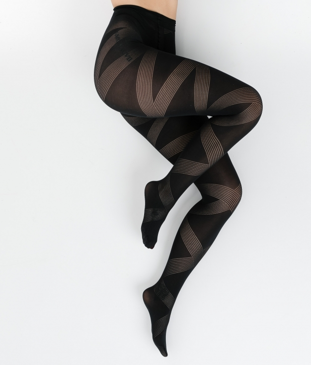 TIGHTS KORMIN - BLACK