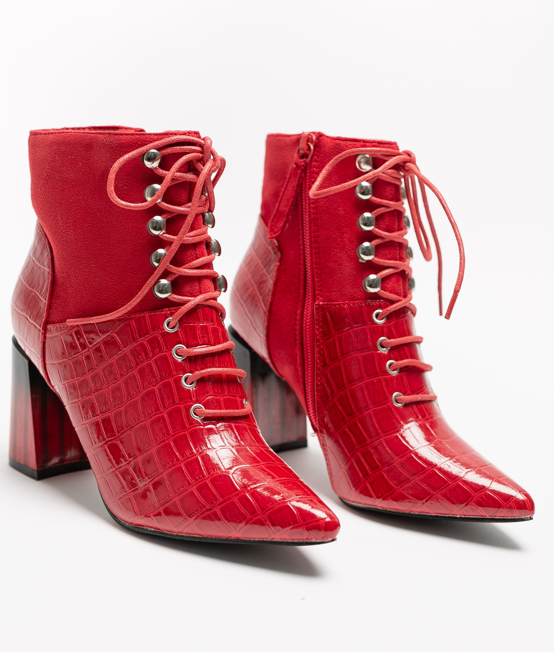 Low Boot Alatar - Red