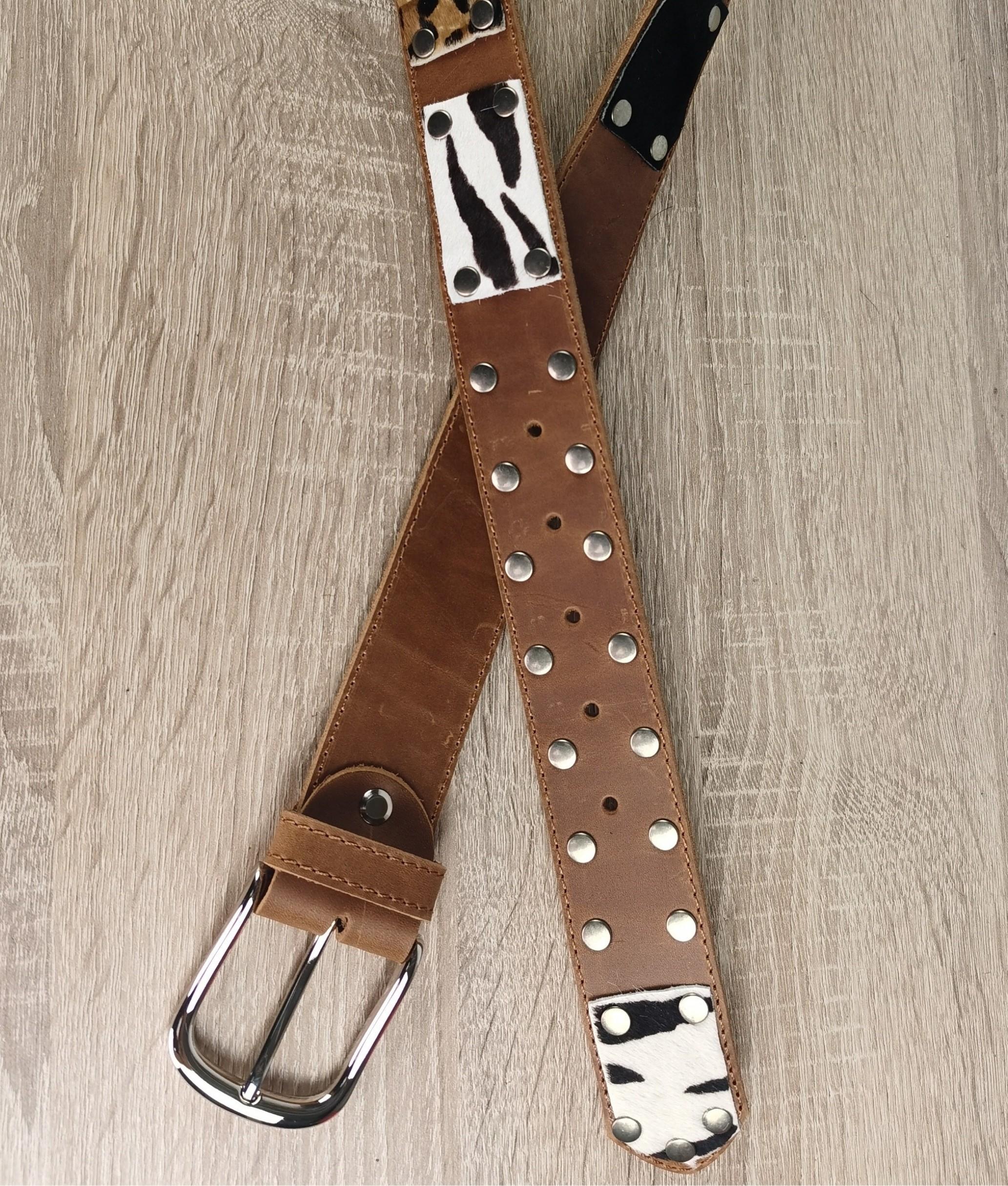Cinturón de piel Mia - Star