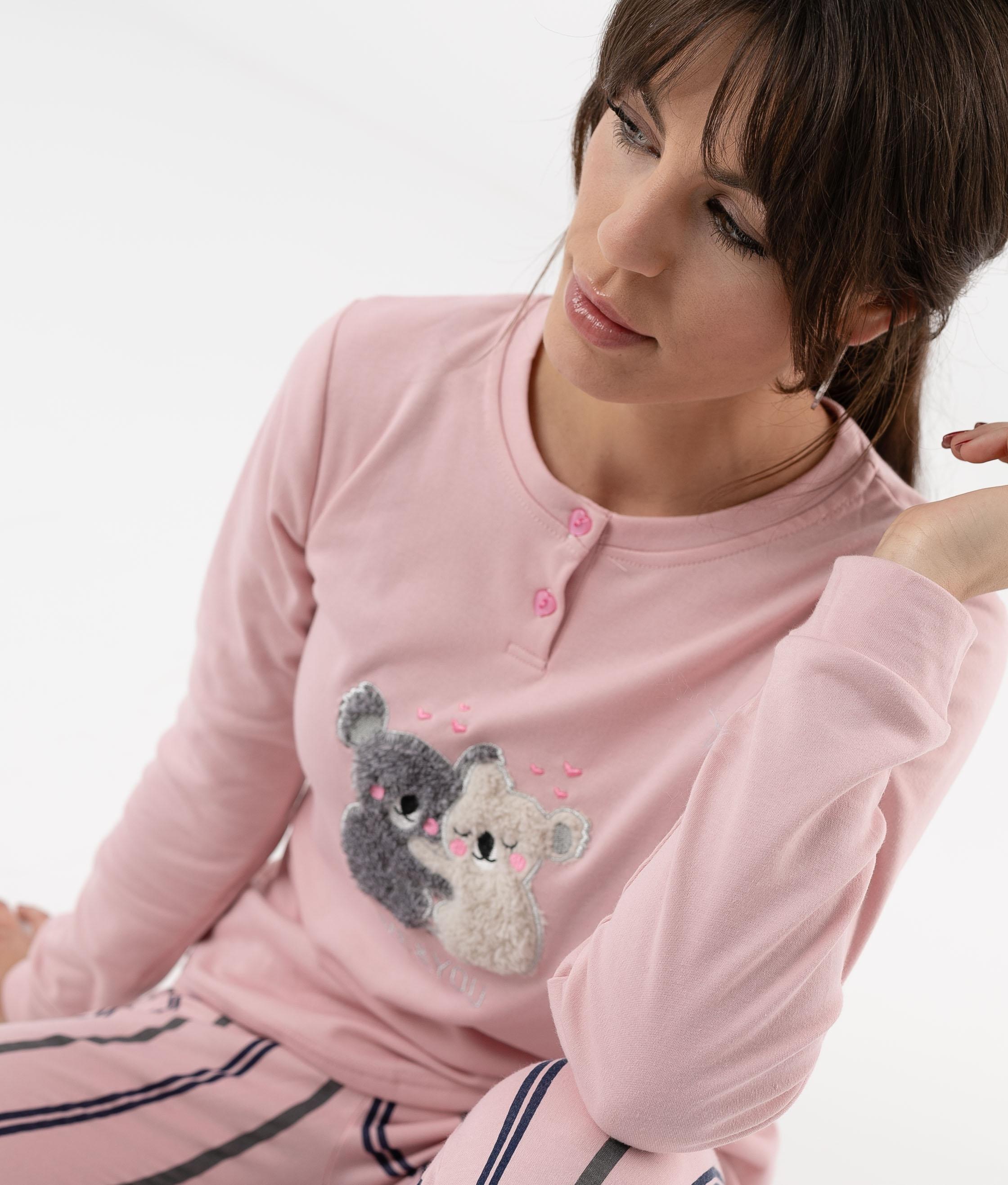 Pijama Ponder - Rosa