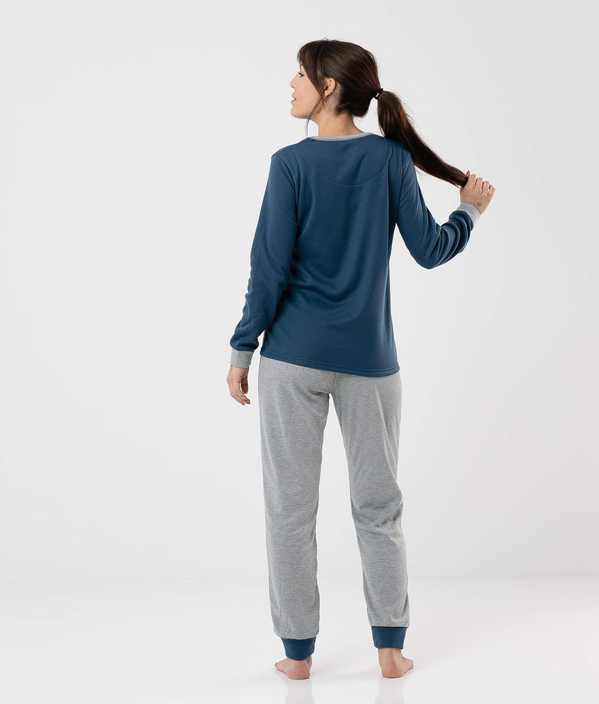 Pijama Cretas - Azul