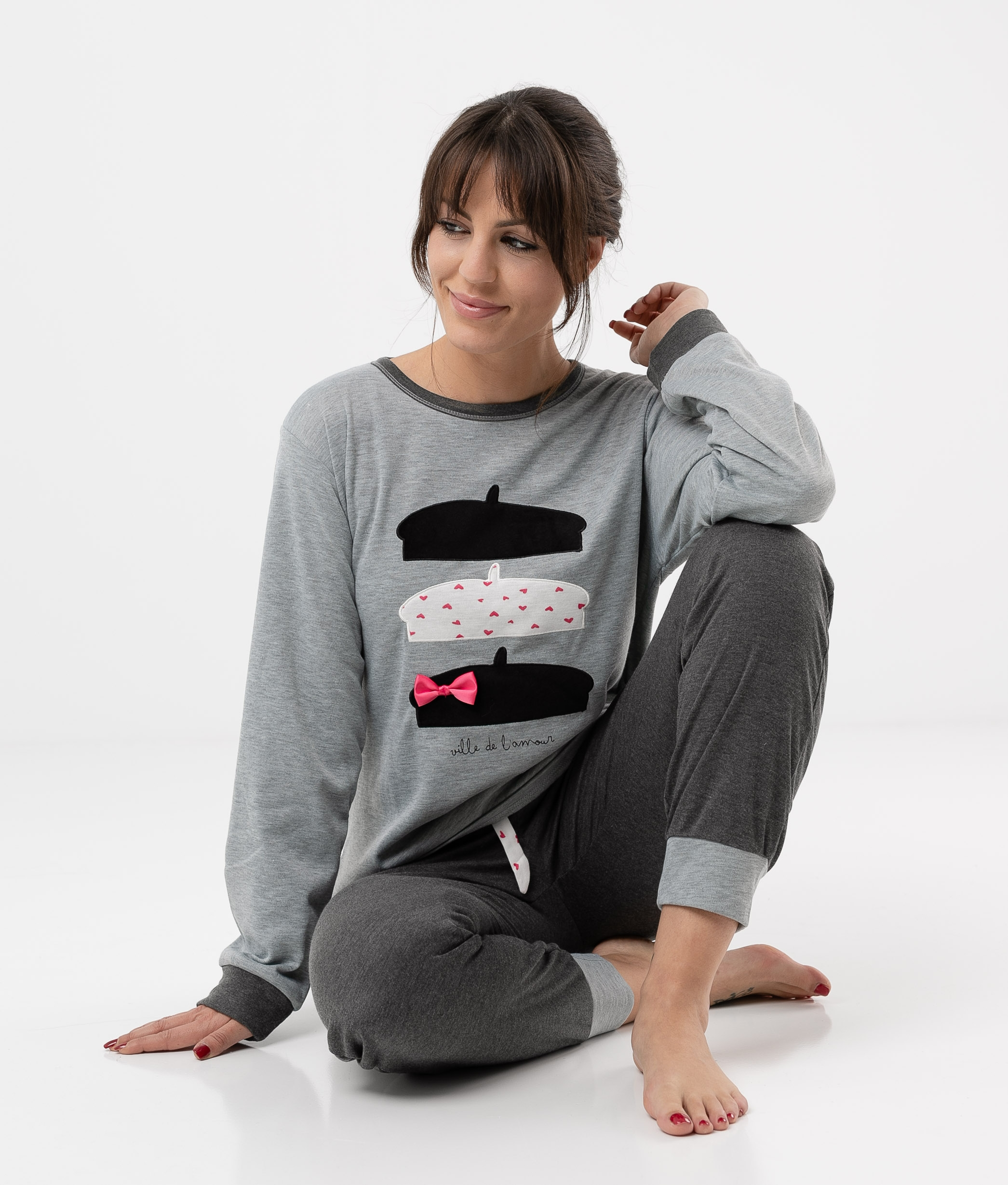 Pyjama Cretas - Grey