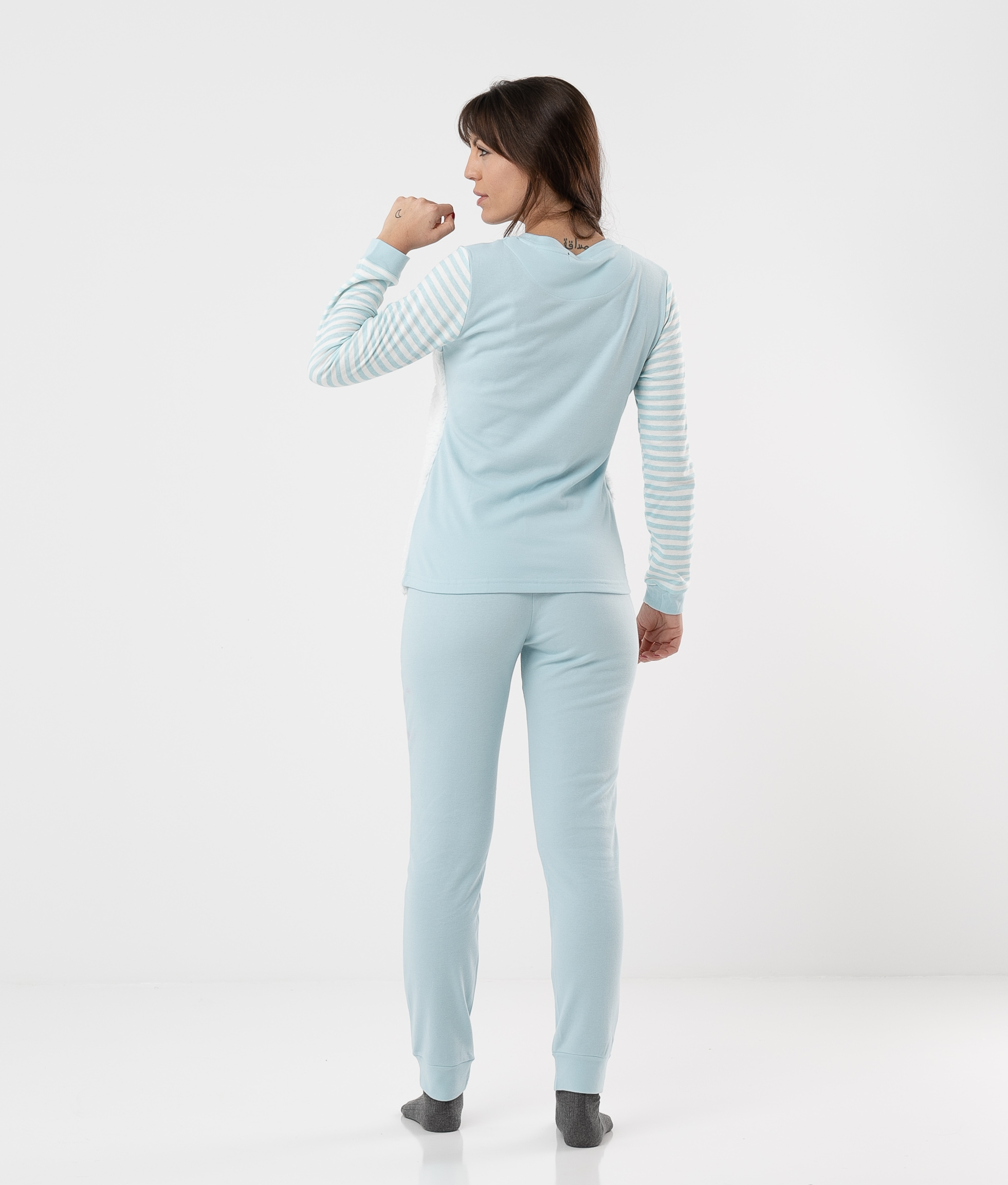 Pyjama Gokayama - Bleu